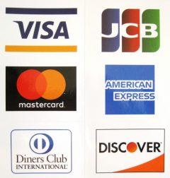 今週からクレジットカード決済ができるようになりました!!